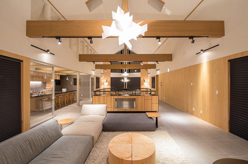 The Orchards Niseko Take Indoor Living Area | St Moritz, Niseko