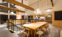 The Orchards Niseko Take Kitchen and Dining Area | St Moritz, Niseko