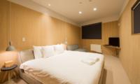 The Orchards Niseko Take Bedroom with TV | St Moritz, Niseko