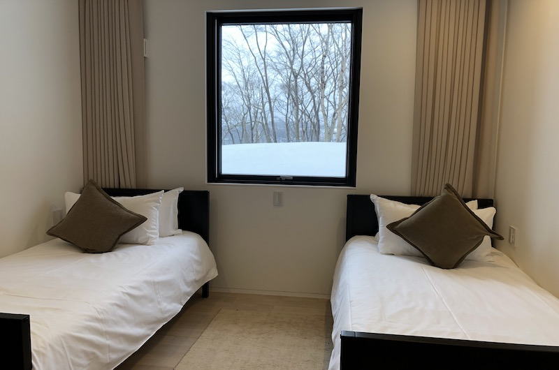 Yanagi House Twin Bedroom | Hirafu, Niseko