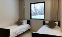 Yanagi House Twin Bedroom Area | Hirafu, Niseko