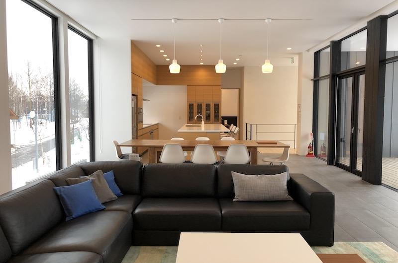 Yanagi House Living Area | Hirafu, Niseko