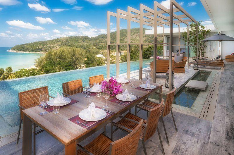 Malaiwana Residences Penthouse Outdoor Dining | Naithon, Phuket