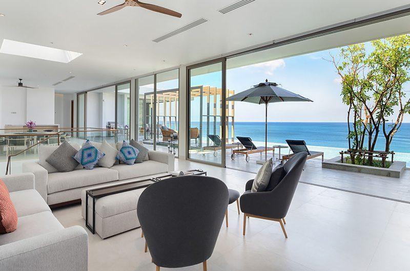 Malaiwana Residences Penthouse Living Area | Naithon, Phuket