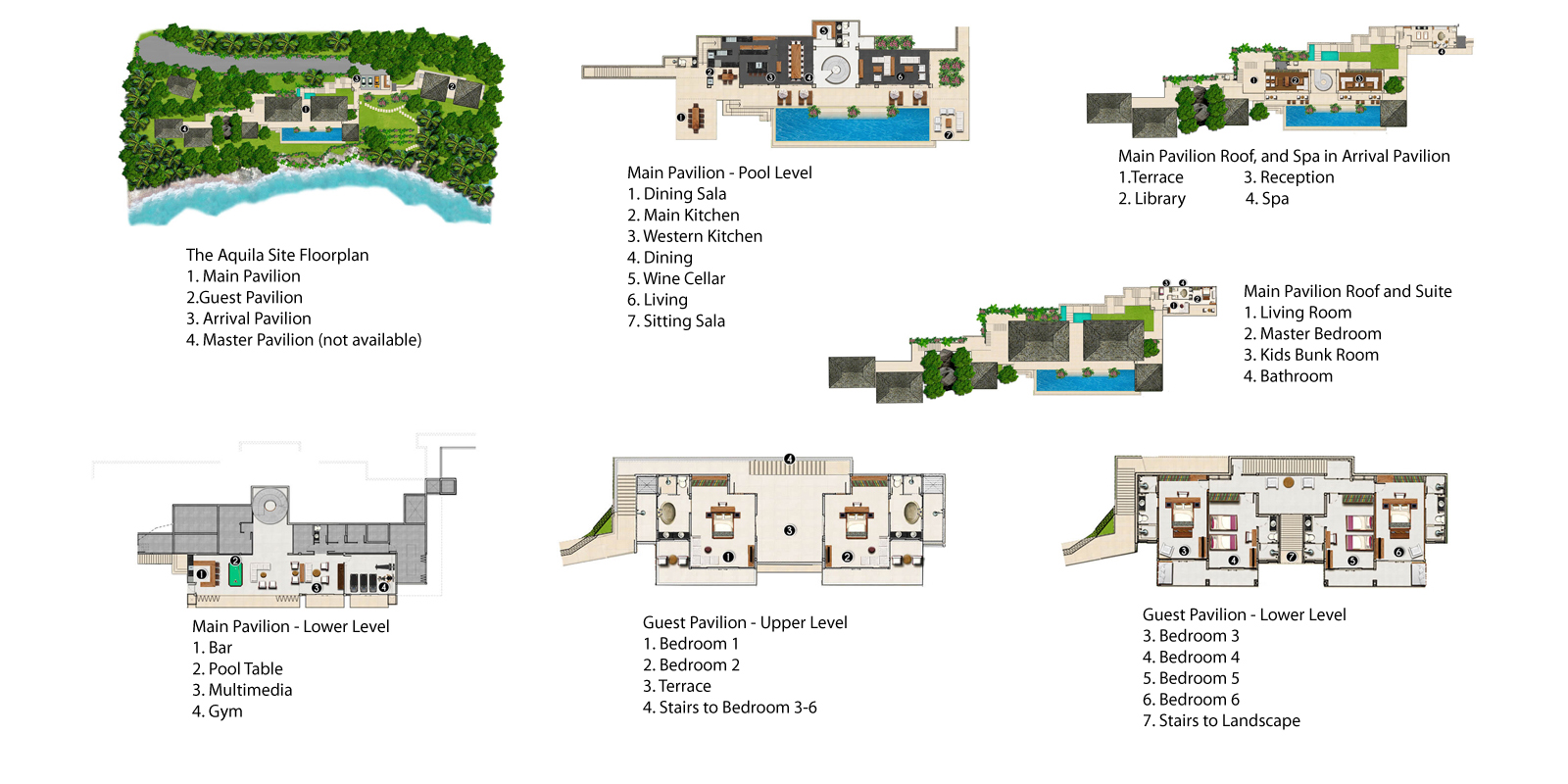 The Aquila Floorplan | Kamala, Phuket