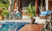 Villa Shambala Phuket Pool Side Dining | Surin, Phuket