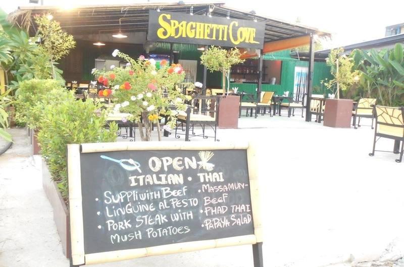 Spaghetti Cove Restaurant Choeng Mon Koh Samui Thailand