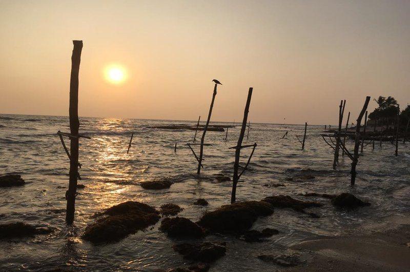 Stick Fisherman View Restaurant Koggala Sri Lanka