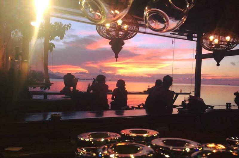 Sunset by Angelina Bar Bang Rak Koh Samui Thailand