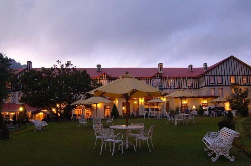Tea Lounge Grand Hotel Bar Nuwara Eliya Sri Lanka