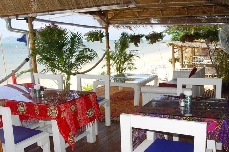 The White Pearl Beach Club Maenam Koh Samui Thailand