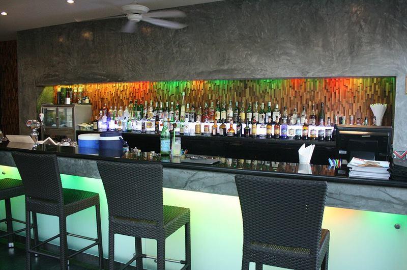 V Lounge at DaVinci Restaurant Nai Harn Phuket Thailand