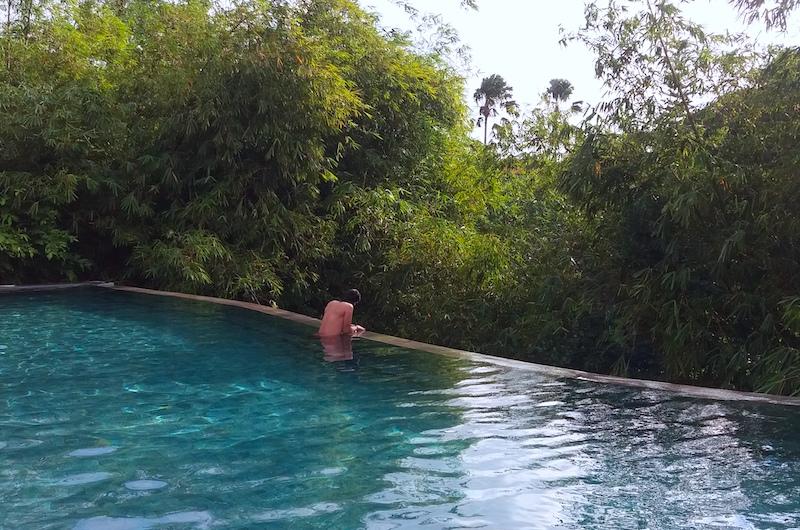 Bali Canggu Lop Pool Bar Jungle View