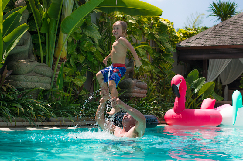 Bali Family Villa Pool | Southeast Asia with kids