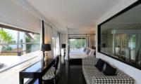 Four On Drupadi Villa Amore Bedroom and Balcony | Bali, Seminyak