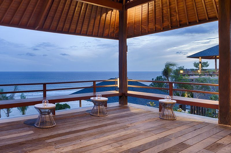 Sohamsa Ocean Estate Villa Soham Outdoor Seating Area | Ungasan, Bali