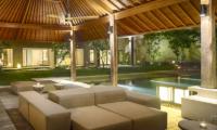 Sohamsa Ocean Estate Villa Soham Pool Side Seating Area | Ungasan, Bali