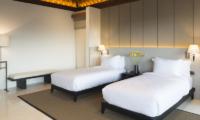 Sohamsa Ocean Estate Villa Soham Twin Bedroom View | Ungasan, Bali