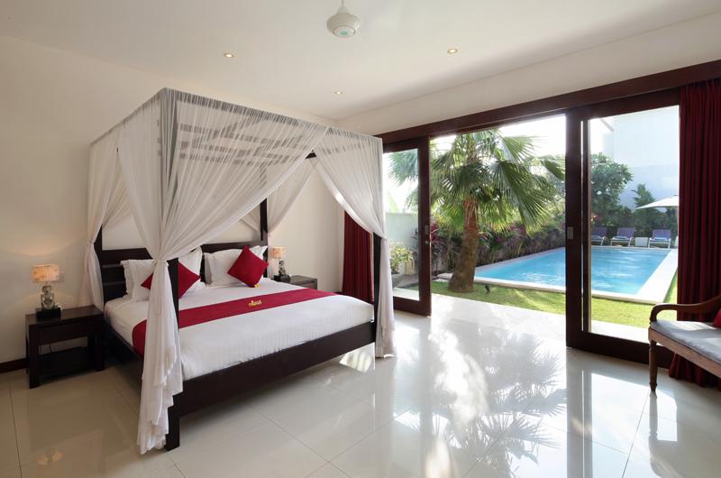 Villa Merayu Bedroom with Pool View | Canggu, Bali