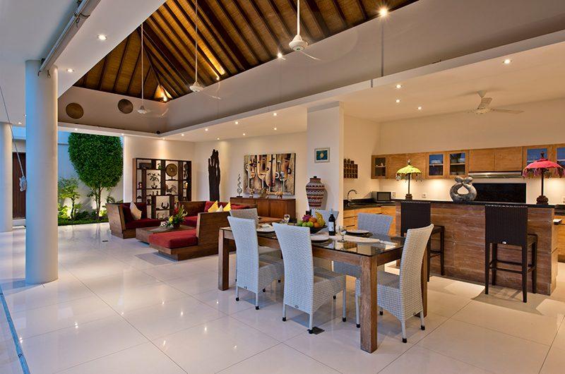 Villa Merayu Living and Dining Area | Canggu, Bali