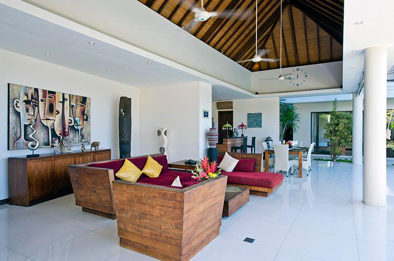 Villa Merayu Open Plan Living Area | Canggu, Bali