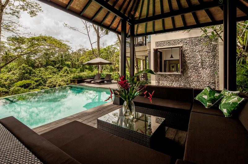 Villa Naga Putih Outdoor Seating Area | Ubud, Bali