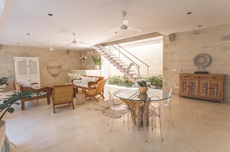 Villa Savasana Open Plan Living Area | Canggu, Bali