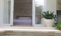 Villa Savasana Bedroom with Pool View | Canggu, Bali
