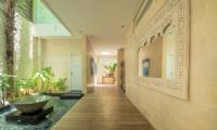 Villa Savasana Entrance with Ponds | Canggu, Bali