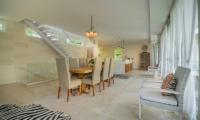 Villa Savasana Wooden Dining Table | Canggu, Bali