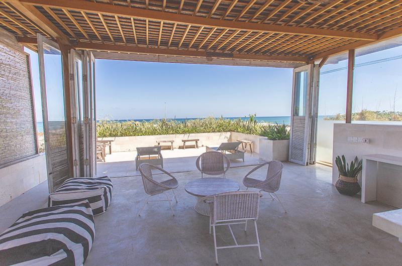 Villa Savasana Seating with Ocean's Views | Canggu, Bali