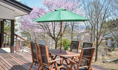 Altitude Hakuba Outdoor Seating | Hakuba, Nagano