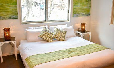 Altitude Hakuba Bedroom with Lamps | Hakuba, Nagano
