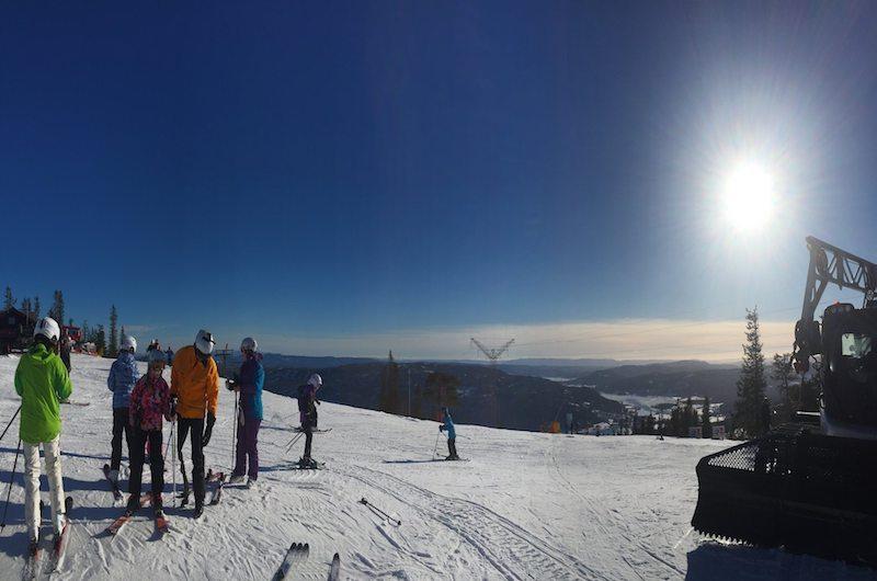 Skiing in Hakuba, Japan