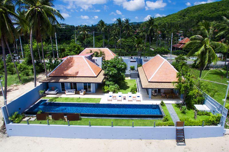 Baan Dalah Bird's Eye View | Bang Rak, Koh Samui