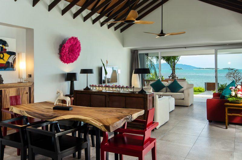 Baan Dalah Living and Dining Area | Bang Rak, Koh Samui