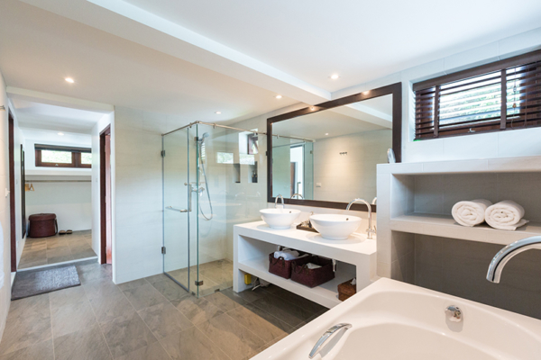 Secret Beach Villa Ensuite Bathroom | Koh Pha Ngan, Koh Samui