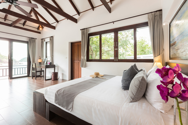 Secret Beach Villa Bedroom One | Koh Pha Ngan, Koh Samui