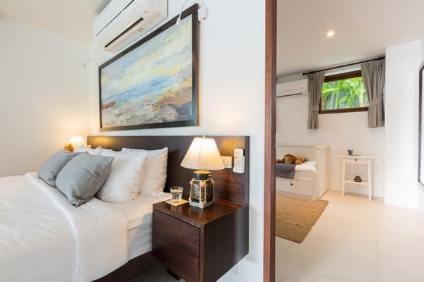 Secret Beach Villa Bedroom Two with Connecting Door | Koh Pha Ngan, Koh Samui