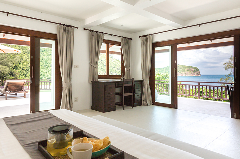 Secret Beach Villa Bedroom Three with Balcony | Koh Pha Ngan, Koh Samui