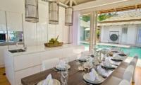 Villa Mia Samui Kitchen and Dining Area | Chaweng, Koh Samui