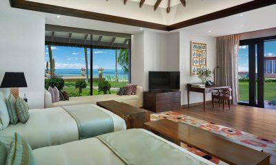 Jumeirah Vittaveli Royal Residence Twin Bedroom with Sea View | Bolifushi Island, Maldives