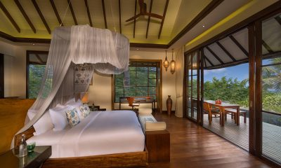 Jumeirah Vittaveli Royal Residence Bedroom | Bolifushi Island, Maldives