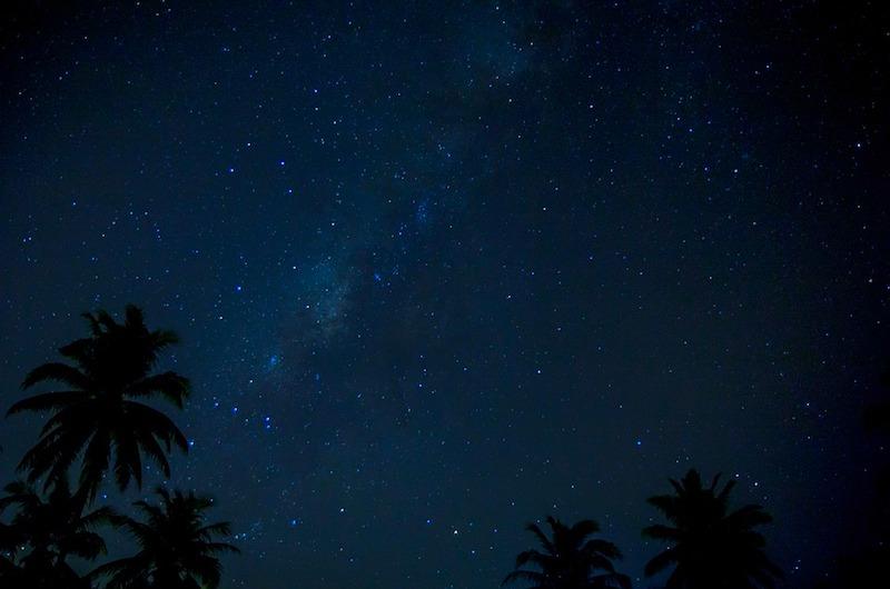 Maldives Starry Sky