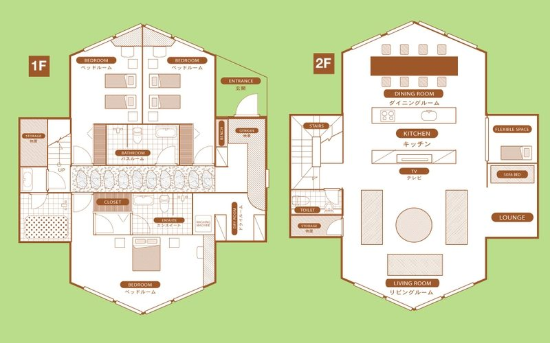 Akagashi The Orchards Niseko Floorplan | St Moritz, Niseko