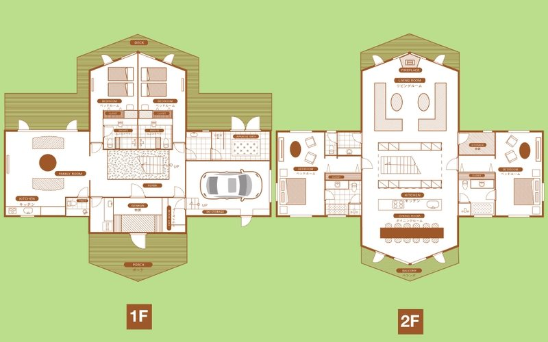 Goyomatsu The Orchards Niseko Floorplan | St Moritz, Niseko
