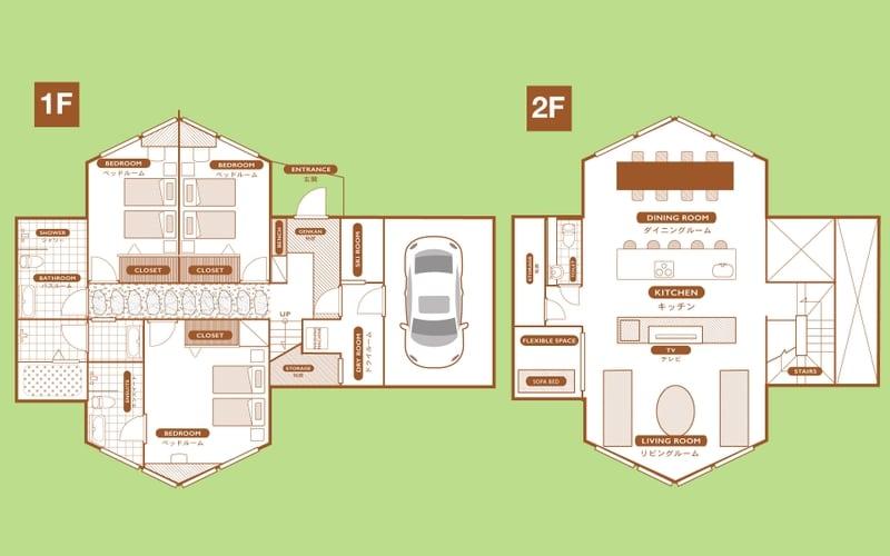 Shion The Orchards Niseko Floorplan | St Moritz, Niseko