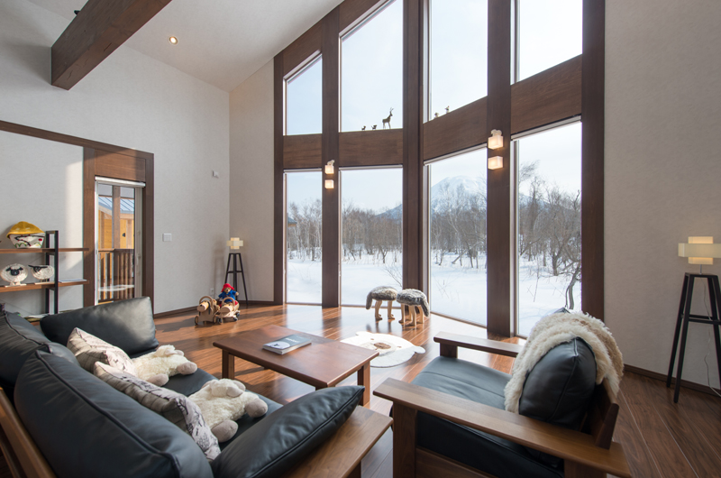The Orchards Niseko Kaki Living Area | St Moritz, Niseko