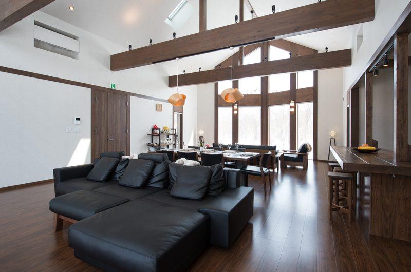 The Orchards Niseko Kaki Living and Dining Area | St Moritz, Niseko