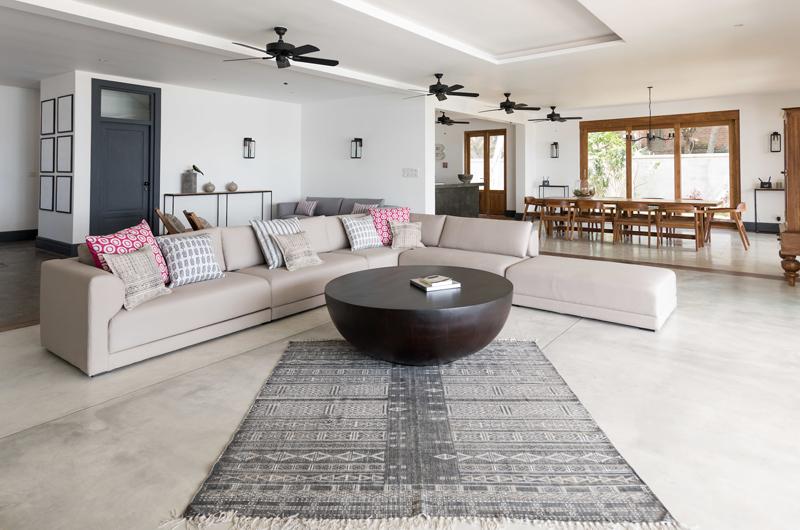 The Boat House Living Area | Dickwella, Sri Lanka